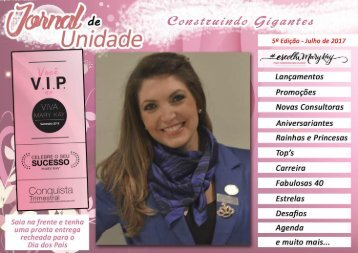 JORNAL DE UNIDADE - CONSTRUINDO GIGANTES 072017