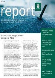 Schutz vor Ansprüchen aus dem AGG - Schunck Group