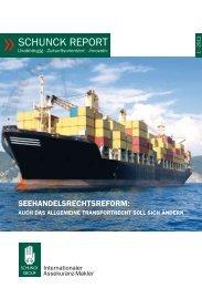 schunck report 1/2011 - Schunck Group