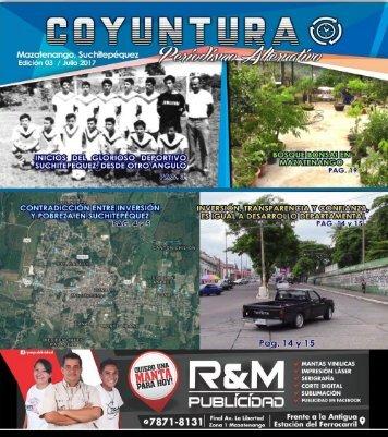 Revista Coyuntura Julio 2017. 3ra Edición.