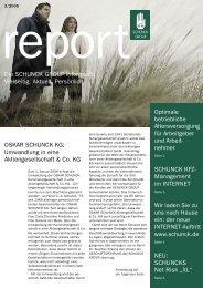 schunck report 3/2005 - Schunck Group