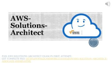 AWS Solution Architect Associate Braindumps