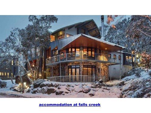 accommodation at falls creek