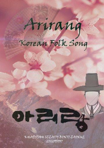 Arirang Korean Folk Song