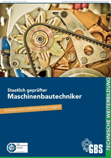 GBS Technikerschule Maschinenbautechniker
