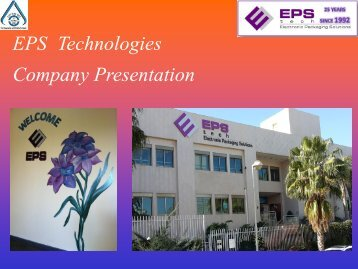 EPS Company presentation  6-2017