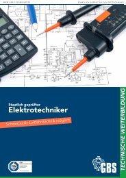 GBS Technikerschule // Eletktrotechniker