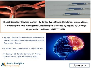 Global Neurology Devices Market – By Device Type, By Region, By Country