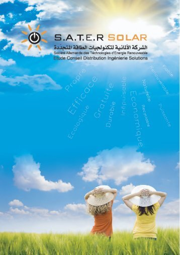 Catalogue SATER SOLAR
