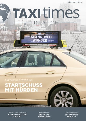 Taxi Times DACH - März 2017