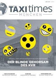 Taxi Times München - Juni 2017