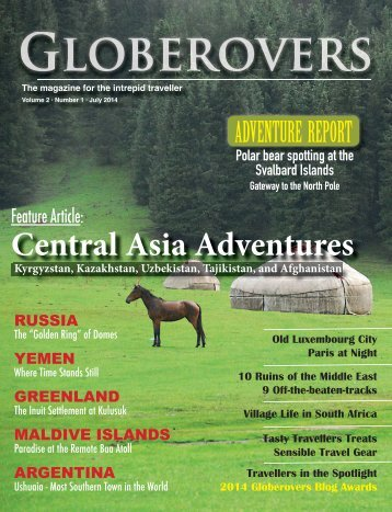 Globerovers Magazine - July 2014