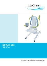 Novum 100 Sitzlifter