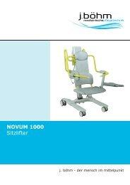 Novum 1000 Sitzlifter