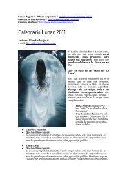 Calendario Lunar 2011 - Wicca Argentina