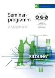 iGZ-Seminarprogramm 02-2017