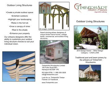 Outdoor living structures PDF