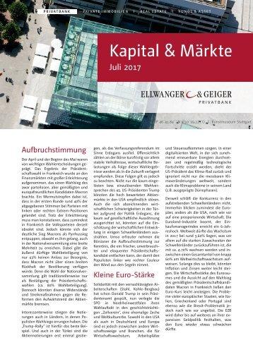Kapital & Märkte: Ausgabe Juli 2017