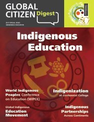 Global Citizen Digest: Indigenous Education