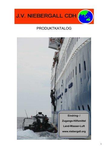Marine Boarding Leiter Aluminium - J. V. Niebergall CDH