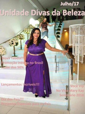 Revista-2017 Julho Kleice Rainha festa das Estrelas