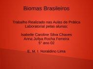 Biomas Brasileiros Isabelle e Anna Jullya 5º ano sala 02
