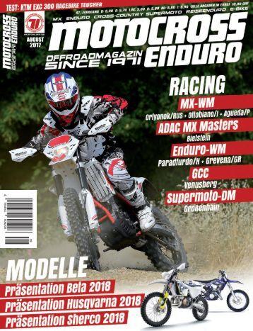 Motocross Enduro Ausgabe 08/2017