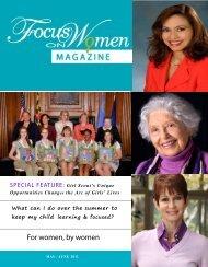 For women, by women - Focus on Women Magazine