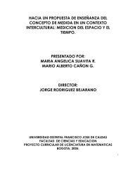 medicion del espacio y el tiempo - Red Latinoamericana de ...