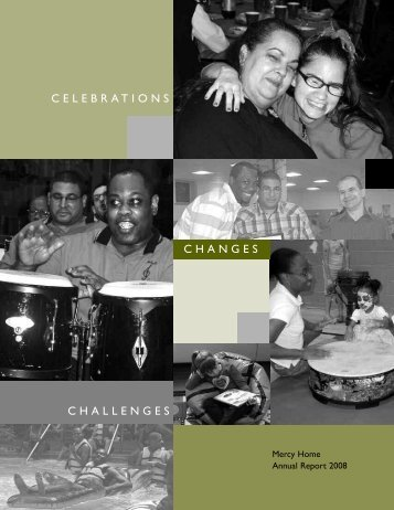 2008 annual report - Mercy Home for Children