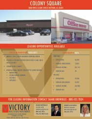 colony square - Victory Real Estate Investments