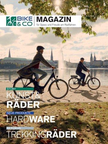 BIKE&CO - Das Magazin für Spaß und Freude am Radfahren - Ausgabe 02/2017