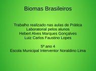 Biomas Brasileiros Hebert  e Luiz Carlos 5º ano 04