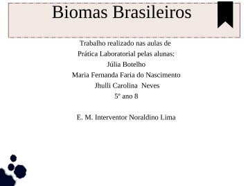 Biomas Brasileiros Julia e Jhulli 5º ano 08