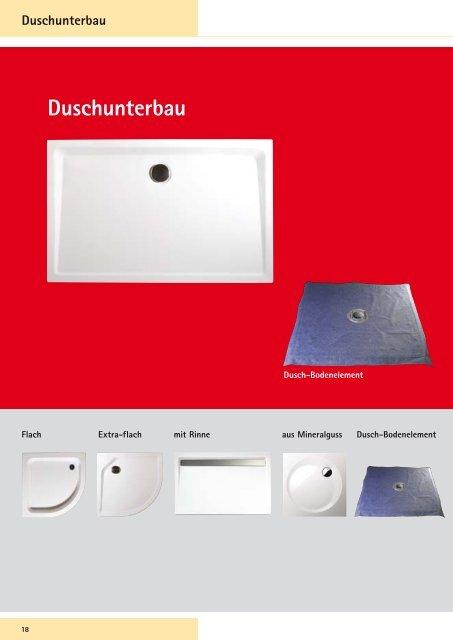 Duschbecken - Schulte