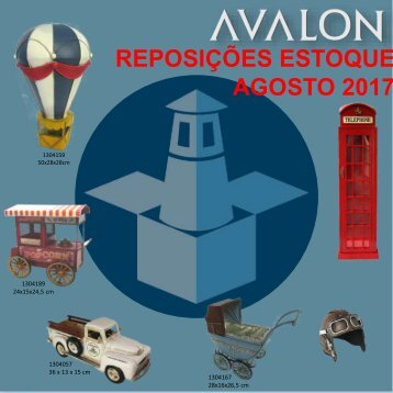 Catalogo dos itens com reposição em Agosto 2017