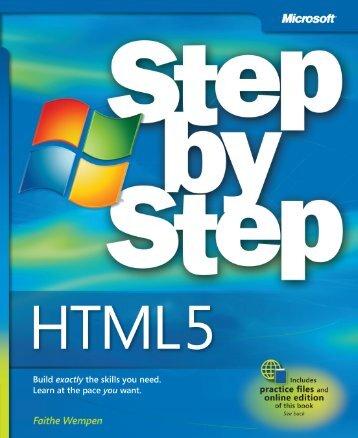 246996016-HTML5-Step-by-Step