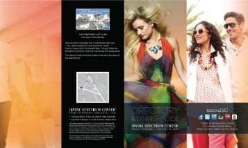+ Print Center Directory (download PDF) - Irvine Spectrum Center