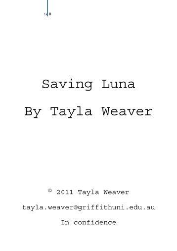 Saving Luna By Tayla Weaver