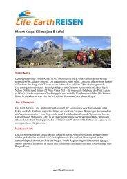Mount Kenya, Kilimanjaro & Safari - woitatscher