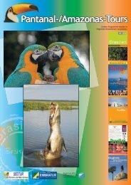 Amazonas-Chapada dos Guimarães–Nobres-Pantanal