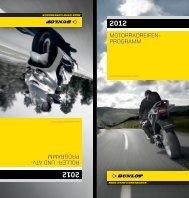 MOTORRADREIFEN- PROGRAMM ROLLER- UND ATV ... - Dunlop
