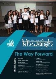 KHWAISH Contents - 1 June 2017 - Finalised