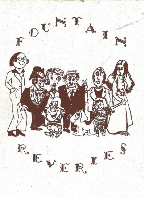 Georgia-Cumberland Academy - Fountain Reveries - 1973