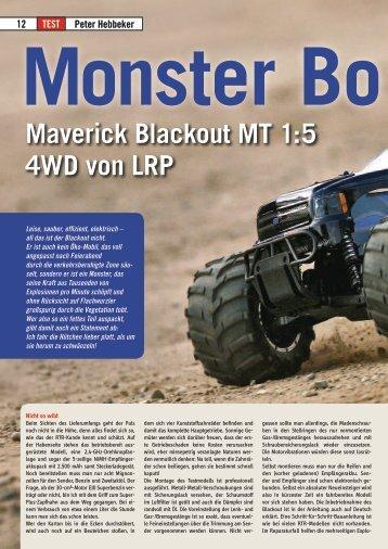 Maverick Blackout MT 1:5 4WD von LRP