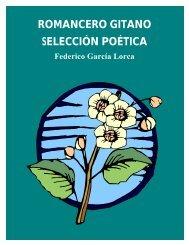 ROMANCERO GITANO SELECCIÓN POÉTICA - Pagina de Poesia
