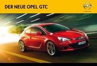 Ihr InDIvIDueller Opel GTC. - Autohaus Ritter