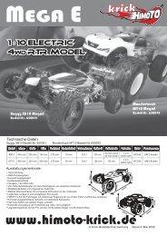 Himoto XB10 Buggy + MT10 Monstertruck ... - Himoto-Krick.de
