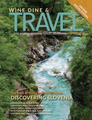 WINE DINE & TRAVEL MAGAZINE SUMMER 2017