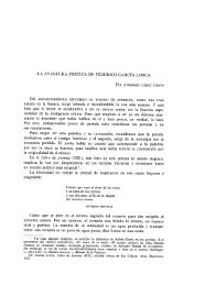 LA AVENTURA POÉTICA DE FEDERICO GARCÍA LORCA Por ...
